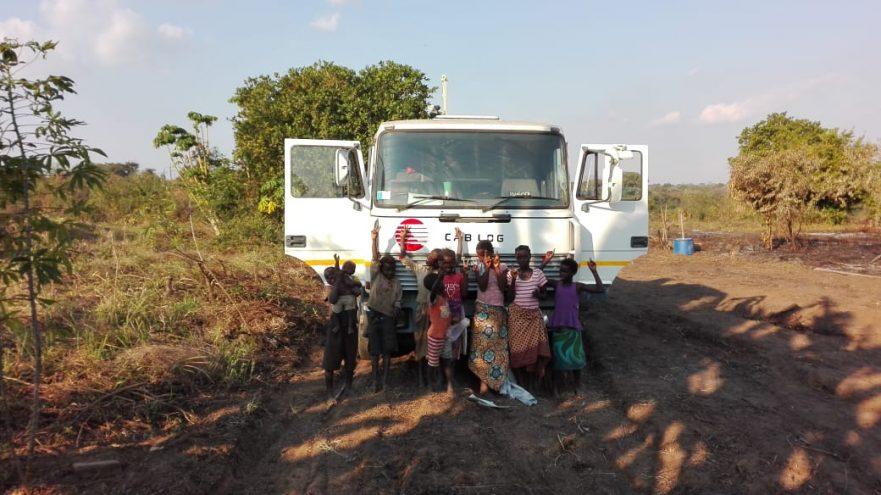 Camion donato da Cab Log al Mozambico
